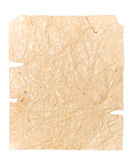 Old crushed brown paper for your illustrations Royalty Free Stock Images