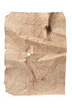 Old crushed paper Royalty Free Stock Images