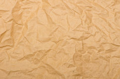 Old crushed paper background Stock Image