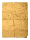 Old crushed paper sheet Royalty Free Stock Photography