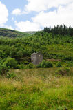 Old crusher house in Glenmalure valley Stock Photo
