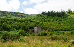 Old crusher house in Glenmalure valley Stock Photography