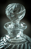 Old crystal bottle Royalty Free Stock Images