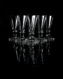 Old crystal shot glasses Stock Photography