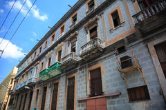 Old cuban building Stock Images