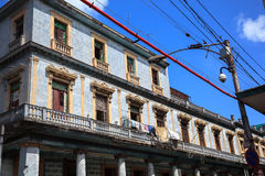 Old cuban building Royalty Free Stock Image