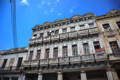 Old cuban building Stock Photos