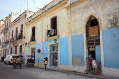 Old cuban building Royalty Free Stock Photography