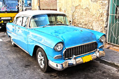 Old cuban car Stock Images