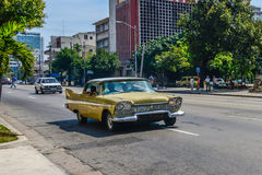 Old Cuban car Royalty Free Stock Image