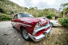 Old Cuban car Royalty Free Stock Photo
