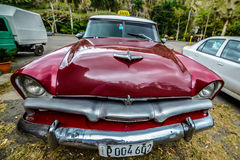 Old Cuban car Stock Photos