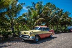 Old Cuban car Stock Photo