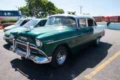 Old Cuban car Royalty Free Stock Image