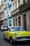 Old Cuban Car - Rear View royalty free stock image