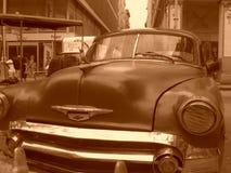 Old Cuban car Royalty Free Stock Photography