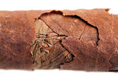 Old Cuban cigar Stock Photos