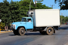 Old Cuban truck Royalty Free Stock Images