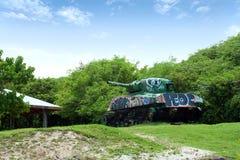 Old Culebra Tank Stock Image