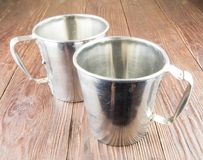 Old cup and bowl Royalty Free Stock Image