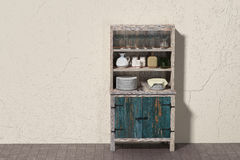 Old cupboard Royalty Free Stock Photography