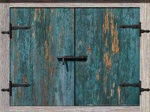 Old cupboard door Royalty Free Stock Photos