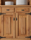 Old cupboard door Royalty Free Stock Image