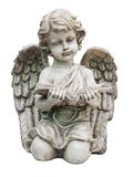 Old cupid statue Stock Image