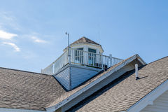 Old Cupola and Widows Walk Stock Images