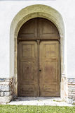 Old curch door Stock Image