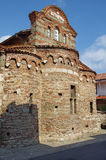 Old greek church in Nessebar Stock Photo