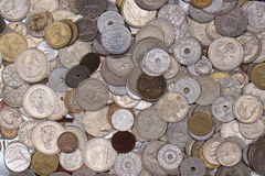 Old currency coins Stock Photography