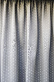 Old curtain fabric Stock Photos