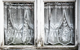 Old curtains Royalty Free Stock Image