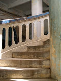 Old curved staircase Royalty Free Stock Image