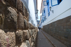Old Cusco street Stock Photos