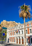 Old Custom House at the Port of Alicante, Spain Royalty Free Stock Photos