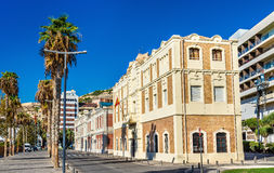 Old Custom House at the Port of Alicante, Spain Stock Images