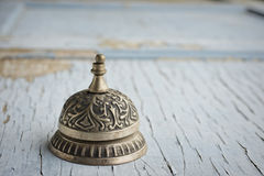 Old customer service bell Stock Image