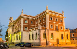 Old customs house at the Plaza de Sevilla in Cadiz, Spain Stock Image
