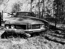 Old Cutlass. That has been setting on our property for a long while Royalty Free Stock Photography
