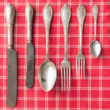 Old cutlery Stock Image