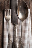 Old cutlery Royalty Free Stock Photos