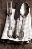 Old cutlery Stock Photos