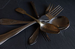 Old cutlery Stock Images