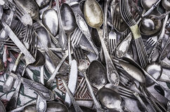Old cutlery Stock Photography