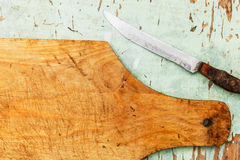 Old cutting board Stock Image