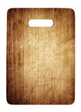 Old cutting board used for cooking. Wood texture Royalty Free Stock Image