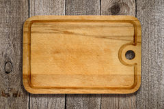 Old cutting board Royalty Free Stock Images