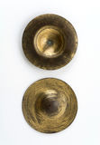 Old cymbals Royalty Free Stock Images